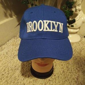NWT Royal Blue & White Brooklyn Ball Cap